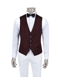 DS DAMAT - DS DAMAT SMOKİN VEST (Slim fit)