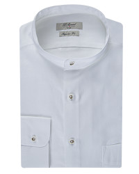 DS DAMAT - D'S Damat Mandarin Neck Shirt | Regular