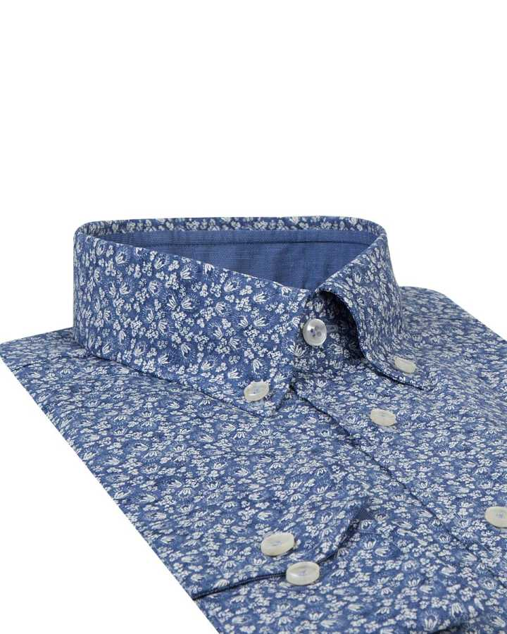 D'S Damat Patterned Shirt | Regular Fit