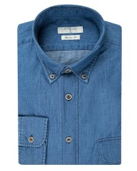 DS DAMAT - D'S Damat Blue Jean Shirt | Regular