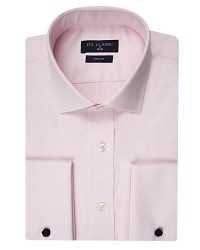 DS DAMAT - D'S Damat Nano Care Pink Shirt | Slim Fit