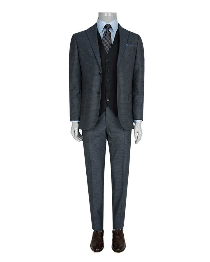 DS DAMAT THREE PIECES SUIT (Regular Fit)