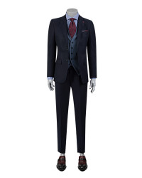 DS DAMAT - D'S Damat Combined Suit | Slim Fit