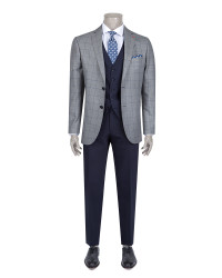 DS DAMAT - D'S Damat Three Pieces Suit | Slim Fit