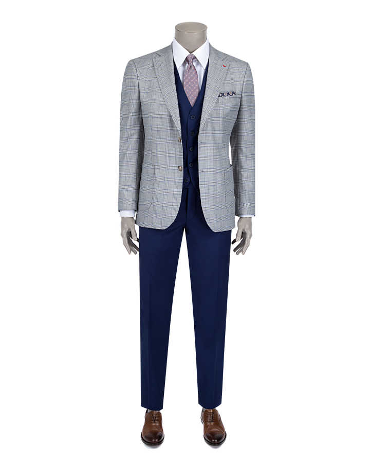 D'S Damat Three Pieces Suit | Slim Fit