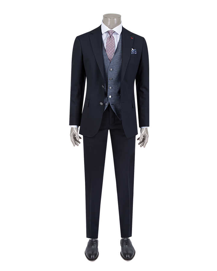 DS DAMAT THREE PIECES SUIT (Slim Fit)