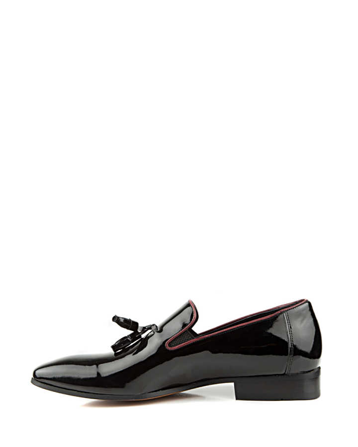 D'S Damat Black Tuxedo Shoes