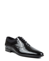 TWN - D'S Damat Black Tuxedo Shoes