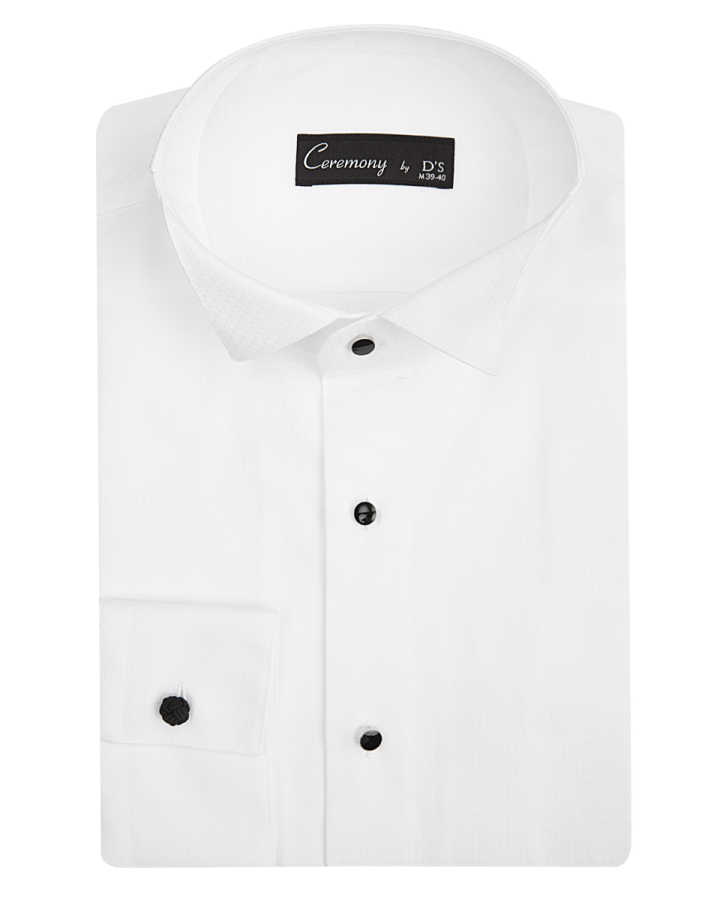 D'S Damat Tuxedo Shirt | Slim Fit