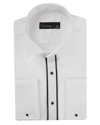 DS DAMAT - D'S Damat Tuxedo Shirt | Slim Fit