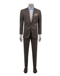DS DAMAT - D'S Damat Plaid Suit | Comfort Fit