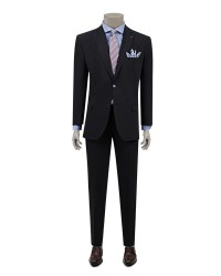 DS DAMAT - D'S Damat Navy Blue Travel Suit | Comfort Fit