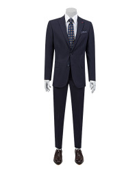DS DAMAT - D'S Damat Navy Blue Travel Suit | Regular Fıt