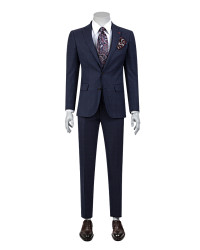 DS DAMAT - D'S Damat Patterned Suit | Slim Fit