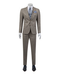 DS DAMAT - D'S Damat Beige Suit | Slim Fit
