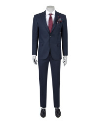 DS DAMAT - D'S Damat Navy Blue Suit | Slim Fit
