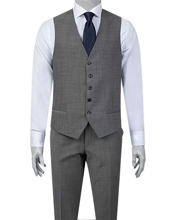 D'S Damat Vest Suit | Slim Fit