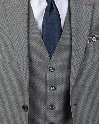 D'S Damat Vest Suit | Slim Fit - Thumbnail