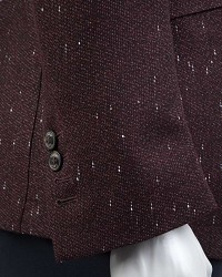 TWN Burgundy Jacket | Slim Fit - Thumbnail