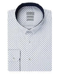 TWN - TWN White Casual Shirt | Slim Fit