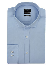 TWN - Twn Classic Blue Shirt | Slim Fit