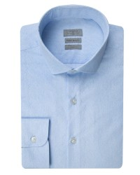 TWN - Twn Printed Blue Shirt | Slim Fit