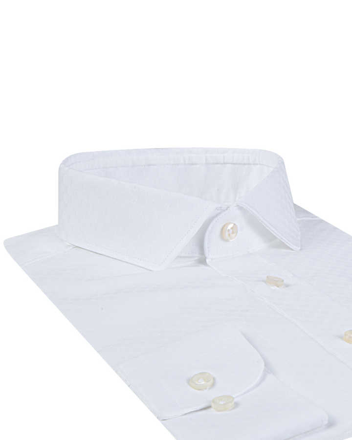 Twn Classic White Shirt | Slim Fit