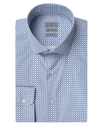 TWN - Twn Blue Printed Shirt | Slim Fit