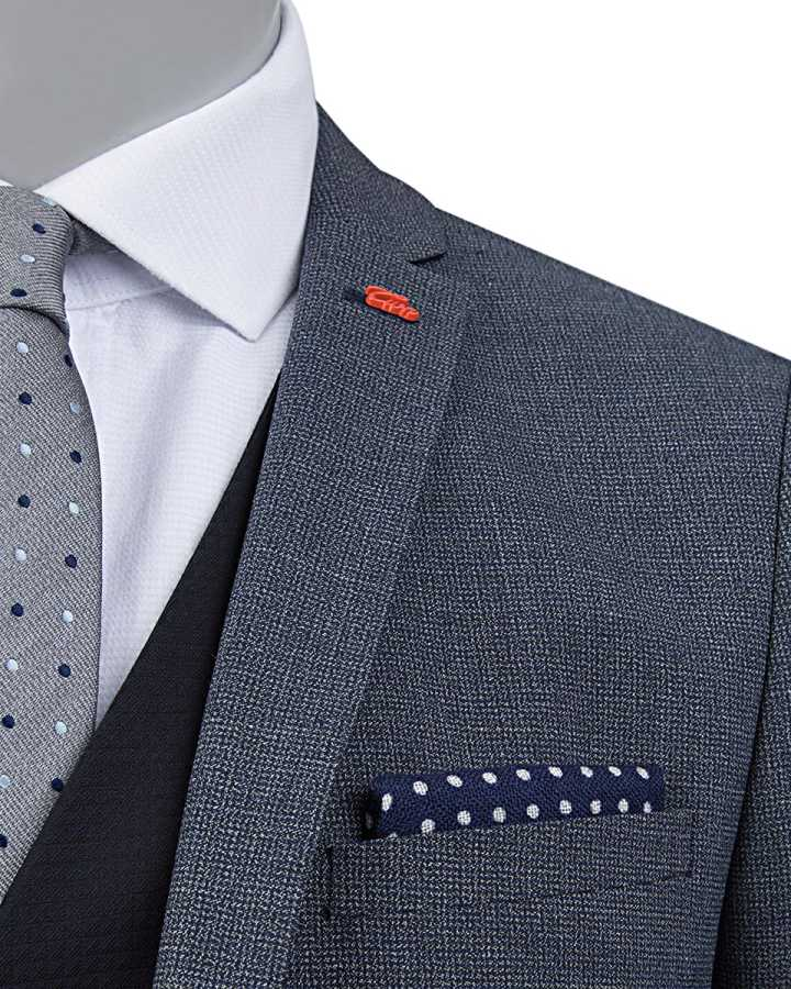 Twn Suit with Vest | Slim Fit