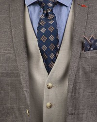 Twn Three Pieces Suit | Slim Fit - Thumbnail