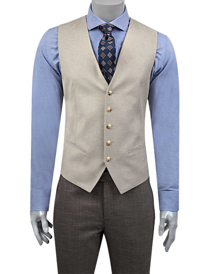 Twn Three Pieces Suit | Slim Fit