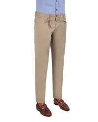 TWN - TWN Beige Trousers | Slim Fit