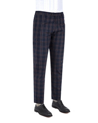 TWN - TWN Plaid Trousers | Slim Fit