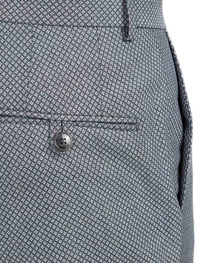 Twn Patterned Trousers | Slim Fit