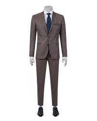 TWN - TWN Classic Burgundy Suit | Slim Fit