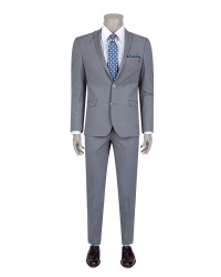 TWN - Twn Grey Suit | Slim Fit