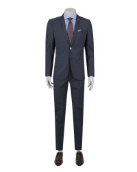 TWN - TWN Navy Blue Suit | Slim Fit