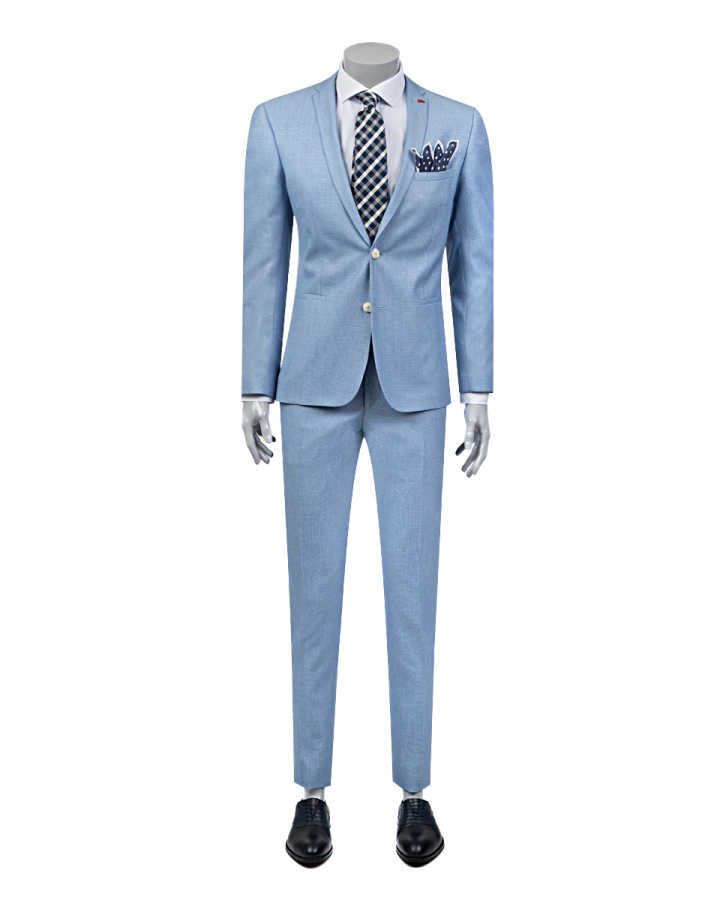 Twn Blue Suit | Super Slim Fit